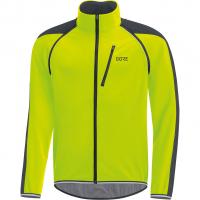 C3 Windstopper® Phantom Zip-Off  Jacke Neon Yellow / Black Herren
