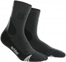 Outdoor Kurz  Socken Grey/Black Herren