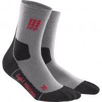 Outdoor Light Merino Mid Cut  Socken Volcanic-Dust Damen