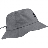 Brimmed Rain  Hat Black Out Melange