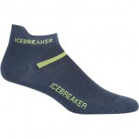 Multisport Ultralight Micro  Socken Oil / Citron Herren