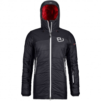 Swisswool Verbier  Isolationsjacke Black Raven Blend Damen