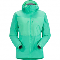 Proton FL Hoody  Softshell Jacket Dark Illucinate Women