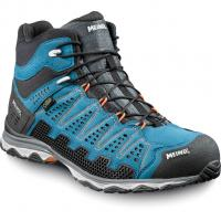 Meindl X-SO 70 Mid GTX®  Bergschuh Blau Orange Herren