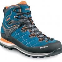 Meindl Litepeak GTX®  Wander-Trekkingschuh Blau/Orange Herren