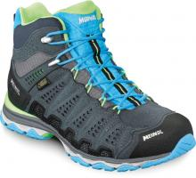 Meindl X-SO 70 Lady Mid Surround  Wander-Trekkingschuh Türkis/Anthrazit Damen