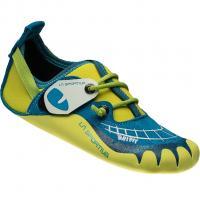 La Sportiva Gripit  Kletterschuh Blue/Sulphur Kinder