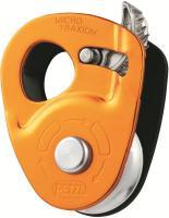 Petzl Micro Traxion   Seilrolle Orange