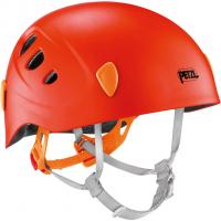 Petzl Picchu  Kletterhelm Smoke Orange Kinder