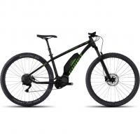 Ghost Hybride Lanao 6 AL 27,5+  E-Bike Black Riot/Dark Green/Fuchsia Pink Damen