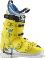 Salomon X MAX 130  Skischuh Weiß/Gelb Herren