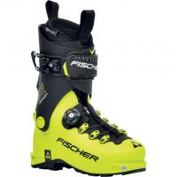 Fischer Travers Carbon   Ski Touring Boots Yellow/Black  Men