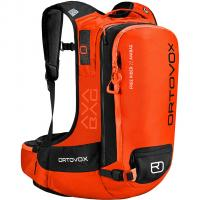 Ortovox Free Rider 22 Avabag (without Cartridge)   Avalanche Backpack Crazy Orange