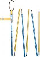 Pieps Aluminium 260 cm  Probe Blau / Gelb