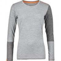 Rock´n´Wool  Funktionsshirt Lang Grey Blend Damen