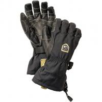 Hestra Army Leather Heli Ski Ergo Grip  Glove Black