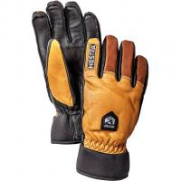 Hestra Army Leather Wool Terry  Fingerhandschuh Brown Herren