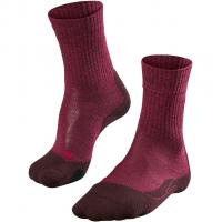 Falke TK 2 Wool   Socken Burgundy Damen