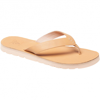 Reef Voyage Leather  Sandale Natural Damen