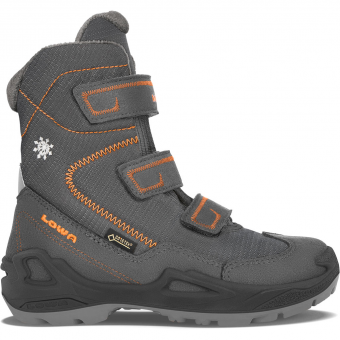 Lowa Milo GTX® HI  Winterstiefel Antracite / Orange Kinder