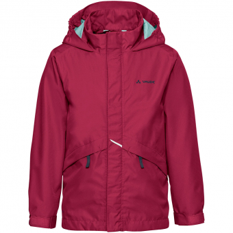 Vaude Escape Light III  Regenjacke Crimson Red Kinder