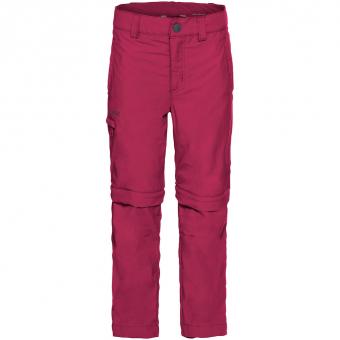 Vaude Detective II Zip-Off  Hose Crimson Red Kinder
