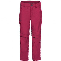 Vaude Detective II   Zipp-Off Hose Crimson Red Kinder