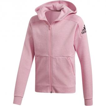 Adidas ID Stadium Hooded Trainings  Hoodie True Pink / Grey Six / Black Kinder