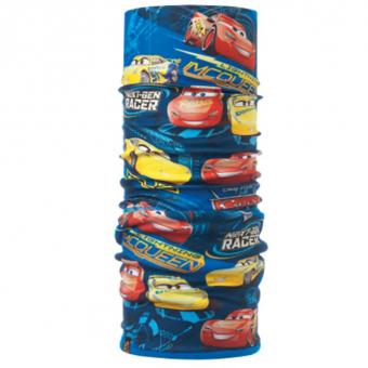 Buff Polar Cars  Neckwarmer Top Cars Blue Harbo Kids