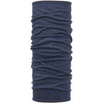 Buff Lightweight Merino Wool Tubular  Solid Denim Kids