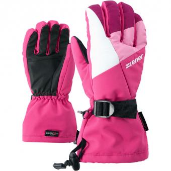 Ziener Lani GTX®  Fingerhandschuh Pink Blossom Kinder