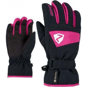 Ziener Lago GTX® Junior  Fingerhandschuh Pop Pink Kinder