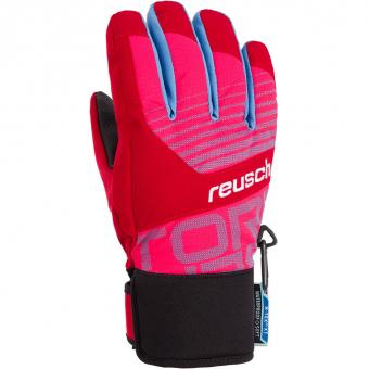Reusch Torbenius R-TEX® XT  Fingerhandschuh Tango Red / Pink Glo Kinder