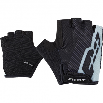 Ziener Corvy  Bike Gloves Black Kids