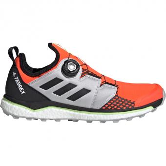 Adidas Terrex Agravic Boa  Runningschuh Solar Red / Core Black / Grey Two Herren