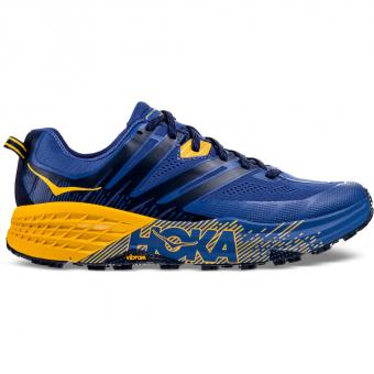 Hoka Speedgoat 3  Runningschuh Galaxy Blue / Old Gold Herren