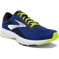 Brooks Launch 6  Runningschuh Black / Blue / Nightlife Herren