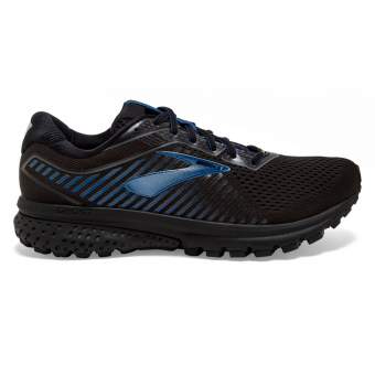 Brooks Ghost 12 GTX®  Running Shoes Black / Ebony Blue Men