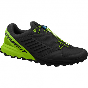 Dynafit Alpine Pro  Runningschuh Black / DNA Green Herren