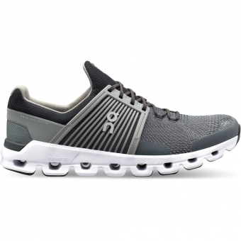 ON Cloudswift  Running Shoes Rock / Slate Men