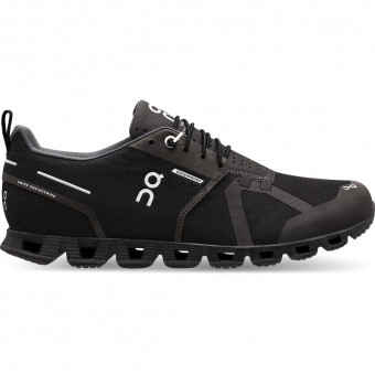 ON Cloud Waterproof  Running Shoes Black / Lunar Men