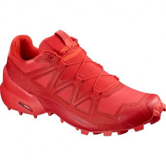 Salomon Speedcross 5  Runningschuh High Risk Red / Barbados Cherry Herren
