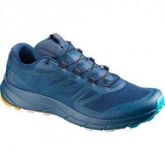 Salomon Sense Ride 2 Mont Blanc Limited Edition  Running Shoes Poseidon Blue Men