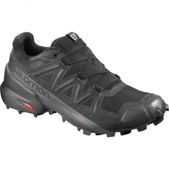 Salomon Speedcross 5 GTX®  Runningschuh Black / Phantom Herren
