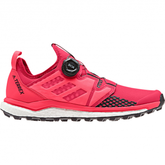 Adidas Terrex Agravic Boa  Running Shoes Active Pink / Core Black / Shock Red Women