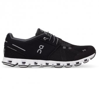 ON Cloud  Running Shoes Black / White Women