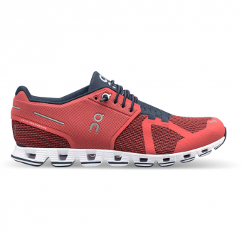 ON Cloud  Runningschuh Coral / Pacific Damen