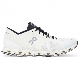 ON Cloud X  Runningschuh White / Black Damen