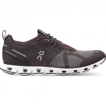 ON Cloud Terry  Running Shoes Pebble Women