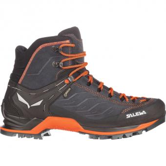 Salewa MTN Trainer Mid GTX®  Wander- und Trekkingschuh Asphalt / Fluo Orange Herren